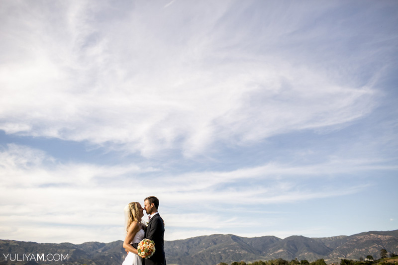 Santa Barbara community church wedding