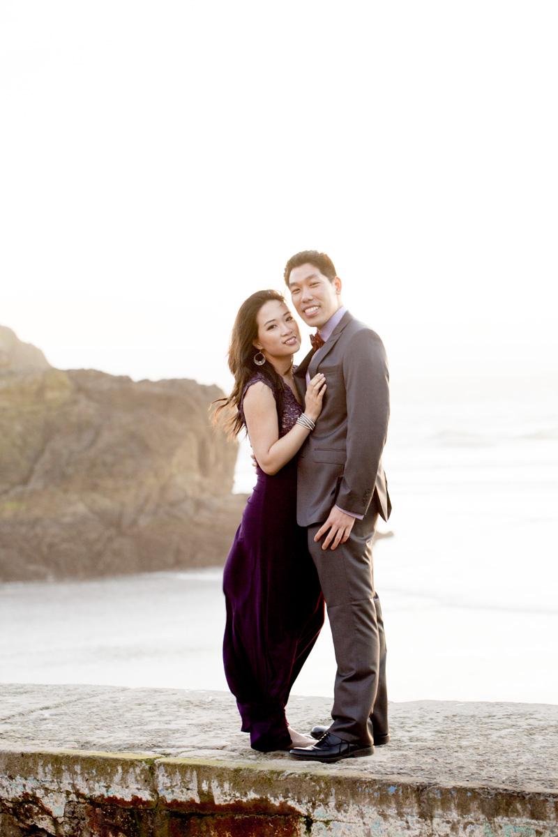 Sutro Baths Engagement Shoot, San Francisco Photographer