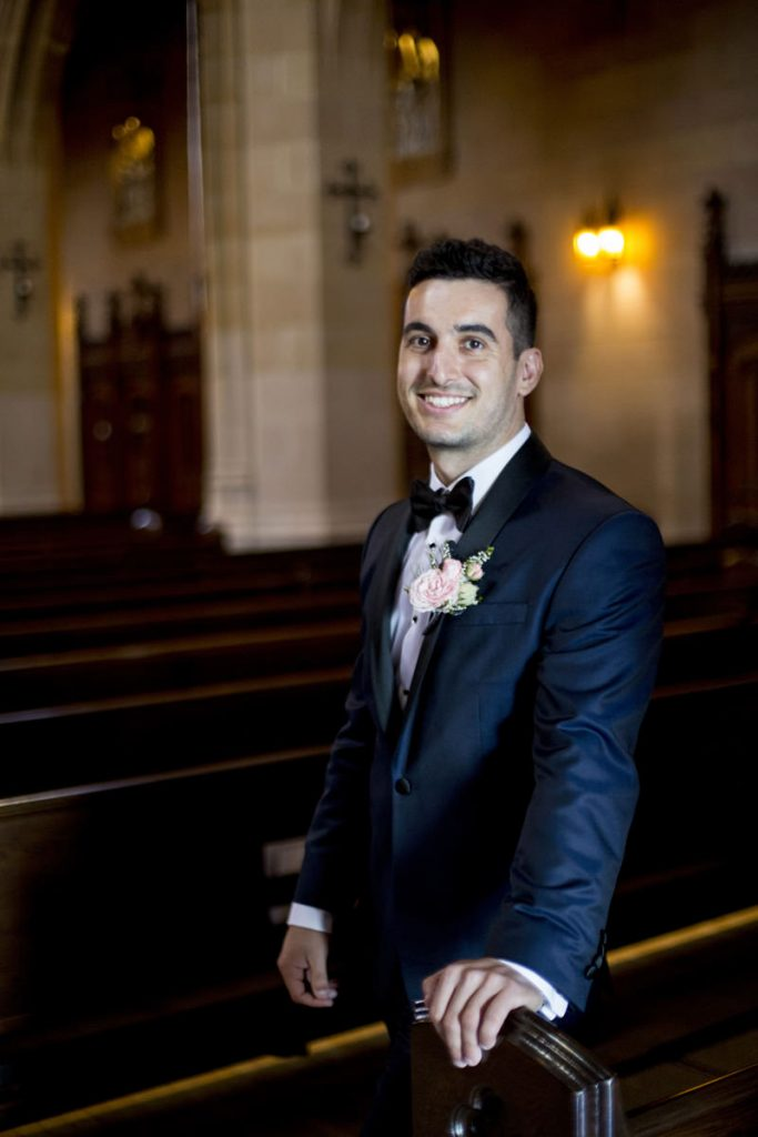 St Dominque's San Francisco Wedding