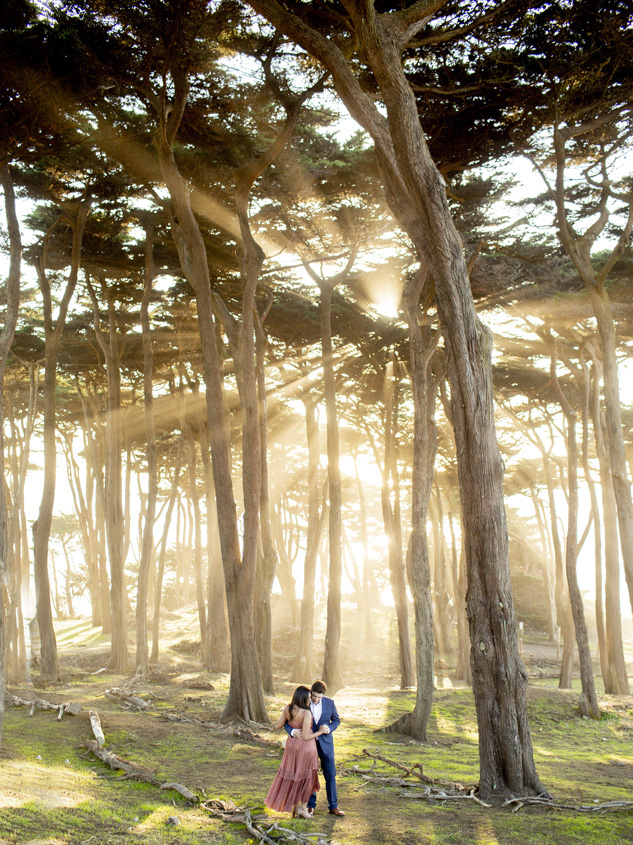Sutro bath engagement shoot photographer, san francisco engagement shoot photographer, china beach engagement photos, copper dress engagement shoot, flood mansion wedding photographer, julia morgan ballroom photographer, fairmont wedding photographer, beach engagement shoot