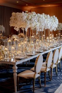 Orchid flower ballroom